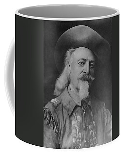 Coffee Mug featuring the photograph Buffalo Bill Cody by Charles Beeler