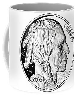 Buffalo Nickel Coffee Mug