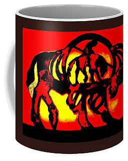 Buffalo Sun Set Coffee Mug