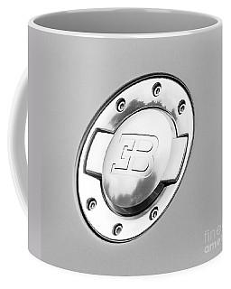 Coffee Mug featuring the photograph Bugatti Fuel Cap by Matt Malloy