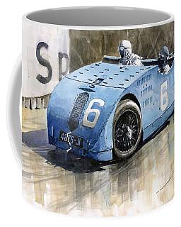 Bugatti Type 32 Tank 1923 French Gp  Coffee Mug