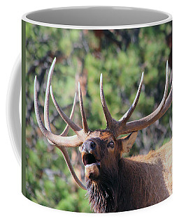 Bugling Bull Coffee Mug