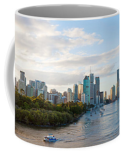 Buildings At The Waterfront, Brisbane Coffee Mug