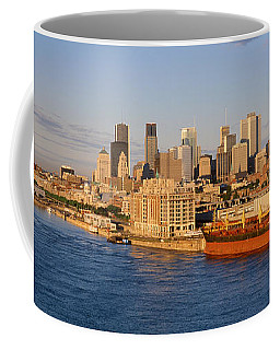 Buildings At The Waterfront, Montreal Coffee Mug