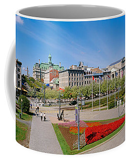 Buildings In A City, Place Jacques Coffee Mug