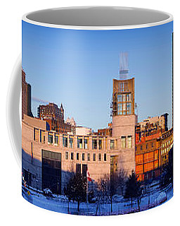 Buildings In Winter, Montreal, Quebec Coffee Mug