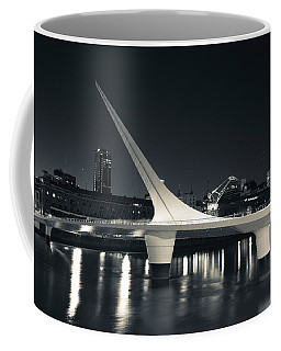 Buildings With A Footbridge Coffee Mug