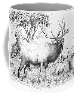 Bull And Harem Coffee Mug