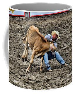 Bull Dogging Coffee Mug