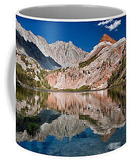Bull Lake And Chocolate Peak Coffee Mug