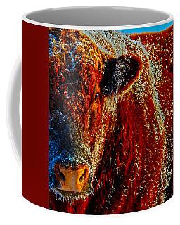 Bull On Ice Coffee Mug