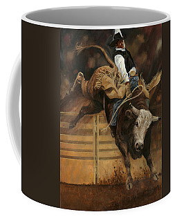 Bull Riding 1 Coffee Mug