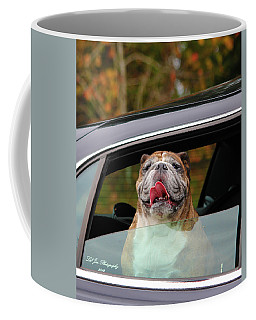 Bulldog Bliss Coffee Mug by Jeanette C Landstrom