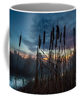 Bulrush Sunrise Coffee Mug
