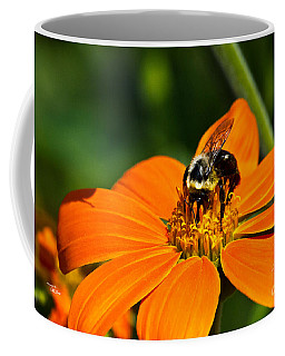 Bumblebee Hard At Work Coffee Mug