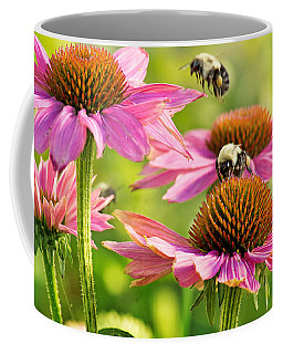 Bumbling Bees Coffee Mug by Bill Pevlor