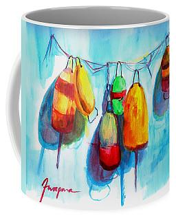 Colorful Buoys Coffee Mug