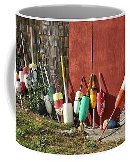 Buoys Coffee Mug by Jean Goodwin Brooks
