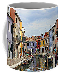 Burano Island Coffee Mug by Cendrine Marrouat