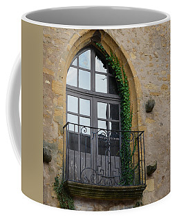 Burgundy Window Coffee Mug