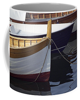 Burgundy Boat Coffee Mug