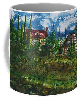 Burgundy In The Morning  Coffee Mug