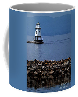 Burlington Breakwater North Lighthouse Coffee Mug