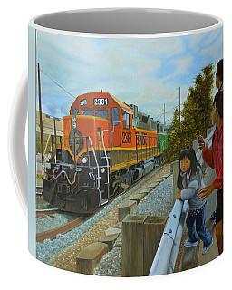 Burlington Northern Santa Fe Coffee Mug