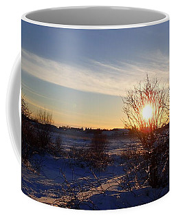 Burning Bush Coffee Mug by Robert Nickologianis