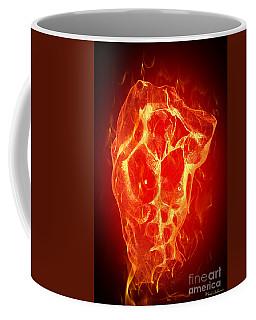 Burning Up  Coffee Mug