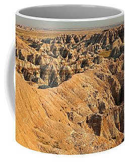 Burns Basin Overlook Badlands National Park Coffee Mug