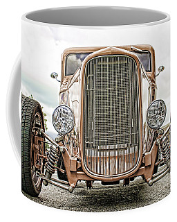 Burnt Orange Hot Rod Coffee Mug