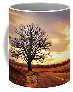 Burr Oak Silhouette Coffee Mug
