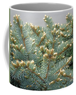 Bush Mountain Crest Coffee Mug by Christina Verdgeline