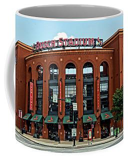 Busch Stadium Home Of The St Louis Cardinals Coffee Mug