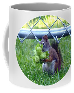 Coffee Mug featuring the photograph Busted by Will Borden