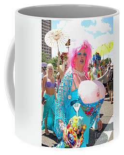 Coffee Mug featuring the photograph Busty Mermaid by Ed Weidman