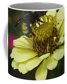 Coffee Mug featuring the photograph Busy As A Bee  by James C Thomas