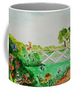 Busy Bee Garden Coffee Mug