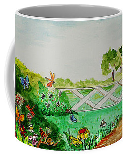 Busy Bee Garden Coffee Mug