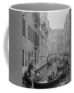 Busy Day In Venice Coffee Mug by Suzanne Oesterling