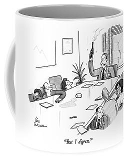 But I Digress Coffee Mug