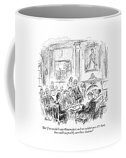 But If We Couldn't Save Wanamaker's Coffee Mug