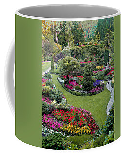 Butchart Gardens Coffee Mug by John M Bailey