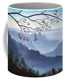 Butte Creek Canyon Mural Coffee Mug