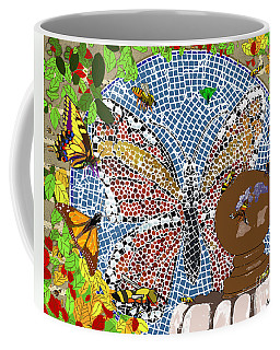 Butterflies And Bees Coffee Mug