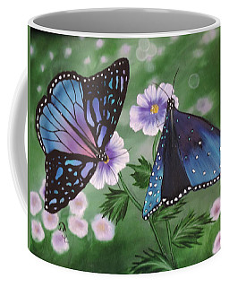 Butterfly #2 Coffee Mug by Dianna Lewis
