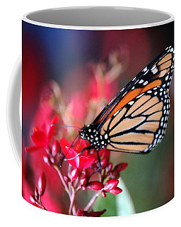 Coffee Mug featuring the photograph Butterfly 2 by Leticia Latocki