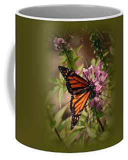 Coffee Mug featuring the photograph Butterfly 5 by Leticia Latocki