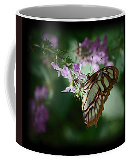 Coffee Mug featuring the photograph Butterfly 7 by Leticia Latocki